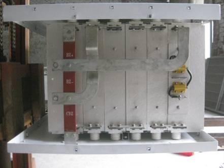 地铁制动电阻箱